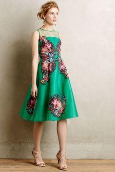 Coral Tree Dress #anthrofave