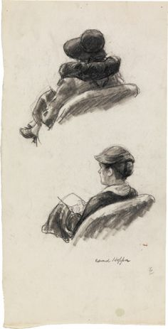 croquis edward hopper 05 382x750 Les croquis dEdward Hopper  peinture 2 featured art