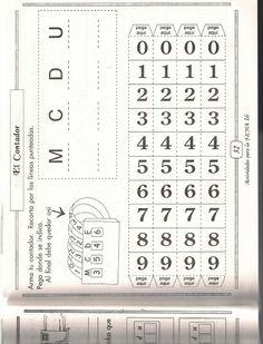 Contador Cuaderno de ejercicio matematicas 3º grado - Patricia Marquez - Álbumes web de Picasa