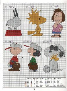 Snoopy and Peanuts xstitch