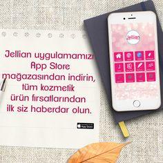 Jellian uygulamamızı App Store mağazasından indirin,tüm kozmetik ürün fırsatlarından ilk siz haberdar olun.                         https://itunes.apple.com/tr/app/jellian/id1288563329?l=tr&mt=8