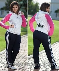 plus size adidas