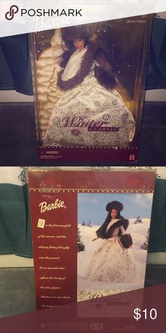 Winter classic Barbie Only taken out of box once, never played with. Good condition. Other