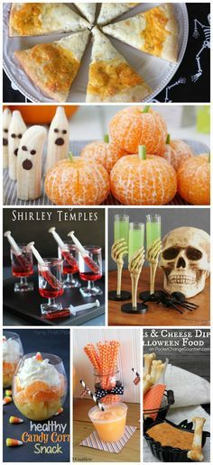 We\u0027ve got the easiest and creepiest Halloween food ideas right here - spooky halloween food ideas