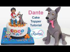 Coco Cake Topper: Dante / Cómo hacer a Dante (Coco Disney Pixar) - YouTube