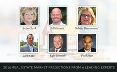 6 Experts Predict 2016 Real Estate Trends
