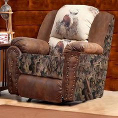 camo recliner chair cheap rental kids toddler sofa seat camouflage furniture cup holder couch kimmii karen living rooms