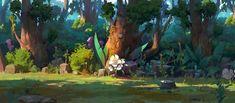ArtStation - A mysterious garden, choi keun hoon