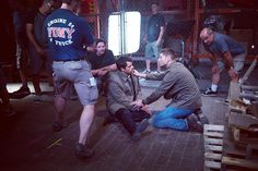 """""""Calm down, #Destiel fans. @jensenackles is just being a supportive director. #Supernatural"""""""