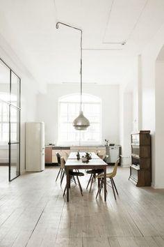 Beautiful office ofDanishaccessory brandBeckSöndergaard in Copenhagen|Photo byHeidi Lerkenfeldt| via Style and Create