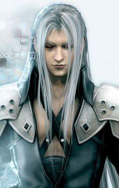Final Fantasy VII: Advent Children Art & Pictures,  Sephiroth CG