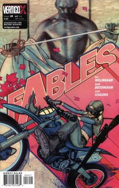 The cover to Fables #16 (2003), art by James Jean