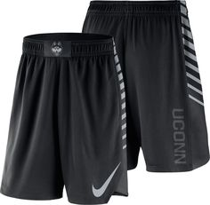 1dfdfe1b3689 Nike Men s UConn Huskies PHK Elite Basketball Black Shorts