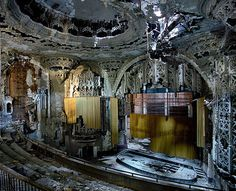 Abandoned Theater in Detroit