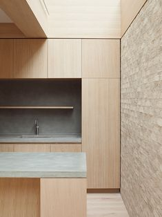situated on a residential street in london, studio erbar mattes has transformed this family home into a wood filled sanctuary, suffused with light.