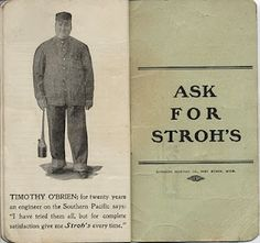 Stroh's Detroit Overall Co., Memorandum and Time Book, 1910