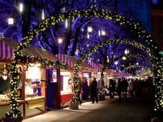 35. Visit the Christmas markets. Germany is the place to be during the holiday season with the country hosting the best christmas markets in the world. There are many in Berlin but the most popular is Weihnachtszauber at the Gendarmenmarkt.