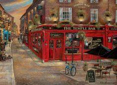 The Temple Bar Ireland Jigsaw Puzzle
