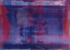 Gerhard Richter. Abstract Painting  1997. 67 cm x 94 cm. Oil on canvas  Catalogue Raisonné: 840-2