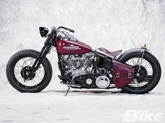 Harley-Davidson bobber motorcycle