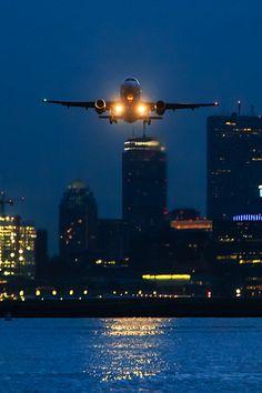 Night flight - takeoff