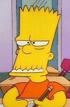 Frustrado, aburrido, asustado, ya cállate, Bart, Simpson, cara Cartoon Memes, Cartoon Pics, Cartoons, Simpsons Episodes, Instagram Cartoon, Profile Pictures Instagram, Simpsons Art, Cartoon Background, Attack On Titan Anime