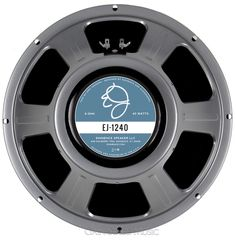 """New for 2015! Eminence Eric Johnson EJ-1240 12"""" Guitar Speaker with Vintage Alnico mag. 40 Watts 8 Ohms    (http://www.gainstagemusic.com/speakers/12-speakers/eminence-ej-1240-signature-12-guitar-speaker-vintage-alnico-40-watts-8-ohms/)"""