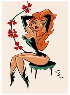 Academy of Art Character and Creature Design Notes: Shane Glines Cartoon Kunst, Comic Kunst, Cartoon Art, Retro Kunst, Retro Art, Art And Illustration, Drawing Sketches, Art Drawings, Dibujos Pin Up