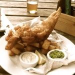 Fish and Chips at the Green Man in Grantchester