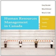 Here are 50 Free Test Bank for Human Resources Management in Canada Canadian Edition 12th Edition Dessler multiple choice questions, these quiz questions focus on the concepts and the key topics to help students take fully understanding of this book and refine knowledge revision. Let's join test bank to answer the requirement's each question and take full automatic answers by your submit. Good time!