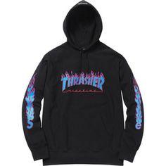 137b121204 Supreme Thrasher Pullover DS Mode Für Frauen