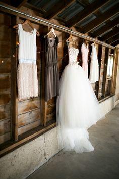Wedding dress, Bridesmaids dress