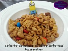 Making Minion Munch Chex Mix + Giveaway Ends 1/26 | The Megalomaniac MommyThe Megalomaniac Mommy