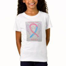 Premature Birth Awareness Ribbon Angel Shirt