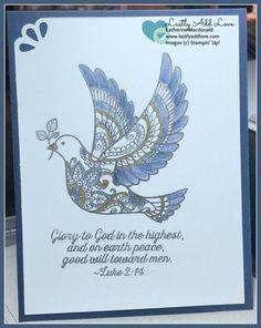 Dove of Peace, Katherine Macdonald, Stampin' Up!