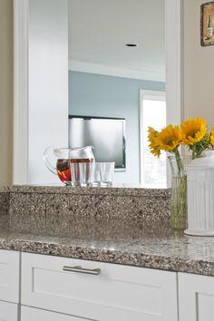 Granite countertops and cutout