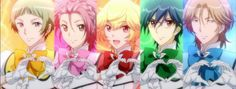 Hinode Reviews - Cute High Earth Defense Club LOVE! Just some cute boys trying to save the day!