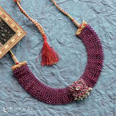 Latest Jewellery Trends, Jewelry Trends, Silver Choker, Silver Jewelry, Ethnic Outfits, Necklace Online, Necklace Designs, Indian Jewelry, Antique Jewelry