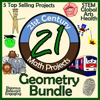 21st Century Math Projects -- Middle & High School Real World Math: Geometry