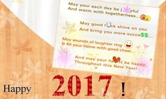 Happy New Year 2018 Quotes :    QUOTATION – Image :    Quotes Of the day  – Description  New Year 2017 Greeting Quotes On Card  Sharing is Power  – Don't forget to share this quote !    https://hallofquotes.com/2018/01/20/happy-new-year-2018-quotes-new-year-2017-greeting-quotes-on-card/