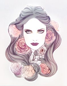 Makeup Trends - Soleil Ignacio Illustrations