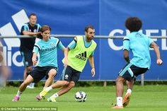 Jose Mourinho tells Diego Costa exactly what he needs from a striker #dailymail