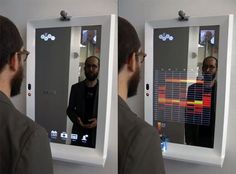 Stunning High-Tech Mirror