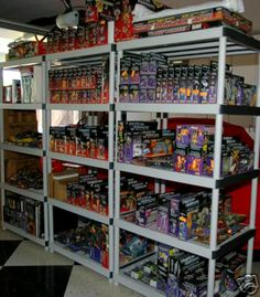 Transformers Inventory Display