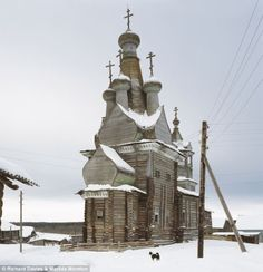 Abandoned Russian church. The churches were constructed from the time of Prince Vladimir, who, on his conversion to Christianity in 988, commanded they should be built