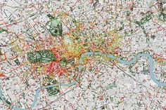 Explore Your City's Urban Smellscape With Scent-Based Smelly Maps Barcelona, Urban Analysis, London Map, Us Map, City Maps, The Washington Post, Urban Planning, Business Design, City Photo