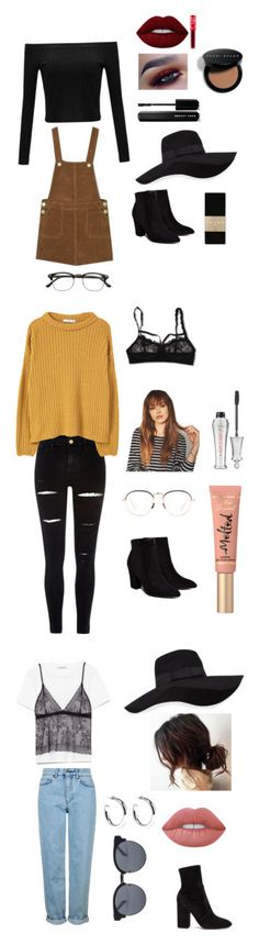 """""""Fall 🍂"""" by abby-shlensky ❤ liked on Polyvore featuring Billini, San Diego Hat Co., ZeroUV, Lime Crime, Falke, Bobbi Brown Cosmetics, Marc Jacobs, River Island, MANGO and Hanky Panky"""