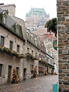 Wonderful streets of Quebec City for our #French #language week