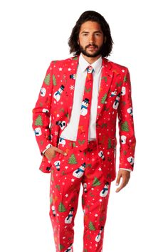 Tacky sweater party suit