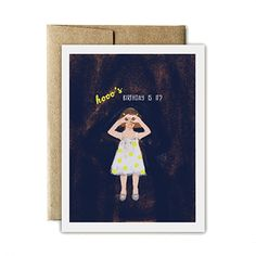 Hoo's Birthday Card